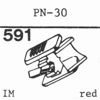 PIONEER PN-30 Stylus, diamond, stereo