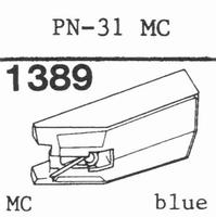 PIONEER PN-31 MC Stylus