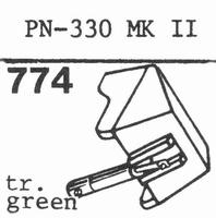 PIONEER PN-330 MK II Stylus, diamond, stereo