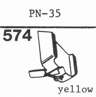PIONEER PN-35 Stylus, diamond, stereo