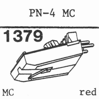 PIONEER PN-4 MC Stylus, ORIGINAL