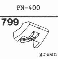 PIONEER PN-400 Stylus, diamond, stereo
