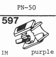 PIONEER PN-50 Stylus, diamond, stereo