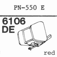 PIONEER PN-550 E Stylus, DE