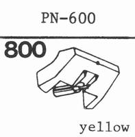 PIONEER PN-600 **N.L.A.**,Repl. byº 6103DS, Stylus, diamond,