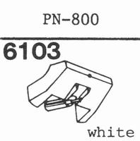 PIONEER PN-800 Stylus, diamond, stereo