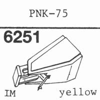 PIONEER PNK-75 Stylus, diamond, stereo