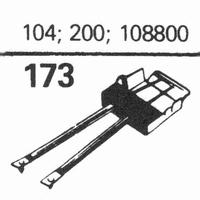 R.C.A. 104, 200, 108800 Stylus, sapphire normal (78rpm) + sa