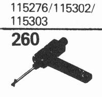 R.C.A. 115276, 115302 Stylus, sapphire normal (78rpm) + sapp