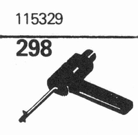 R.C.A. 115329 Stylus, sapphire normal (78rpm) + sapphire ste