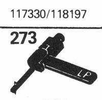 R.C.A. 117330/118197 Stylus, sapphire normal (78rpm) + sapph