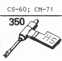 RADIOHM CM-71 Stylus, SN/DS