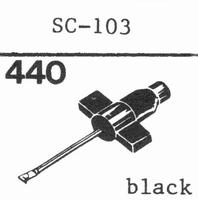 RONETTE SC-107, SC-109 Stylus, diamond, stereo