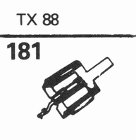 RONETTE TX-88 Stylus, diamond, stereo