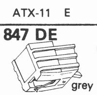 SABA ATX-11 E Stylus, DE-OR