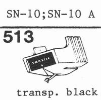 SANSUI SN-10, SN-10 A Stylus, diamond, stereo