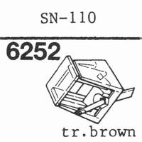 SANSUI SN-110 Stylus, diamond, stereo