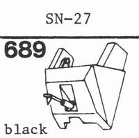 SANSUI SN-27 Stylus, diamond, stereo