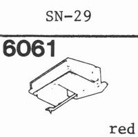 SANSUI SN-29 Stylus, diamond, stereo