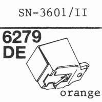 SANSUI SV-1112 orange Stylus, diamond, elliptical, original