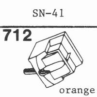 SANSUI SN-41 Stylus, diamond, stereo