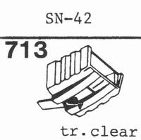 SANSUI SN-42 Stylus, diamond, stereo