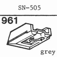 SANSUI SN-505 Stylus, diamond, stereo, original