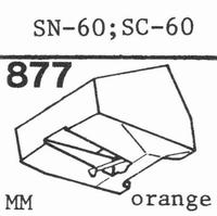 SANSUI SN-60, SC-60 Stylus, diamond, stereo