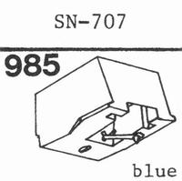 SANSUI SN-707 Stylus, diamond, stereo