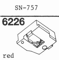 SANSUI SN-757 Stylus, diamond, stereo, original