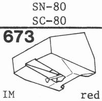 SANSUI SN-80, SC-80 Stylus, diamond, stereo