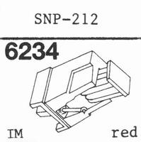 SANSUI SNP-212 Stylus, diamond, stereo