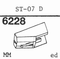SANYO ST-07 D Stylus, diamond, stereo