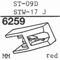 SANYO ST-09 D - ELLIPTICAL Stylus, DE
