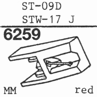 SANYO ST-09D, TRIO N-69 Stylus, DS<br />Price per piece