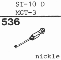 SANYO ST-10 D, MGT-3 Stylus, diamond, stereo