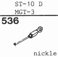 SANYO ST-10 D, MGT-3 Stylus, DS