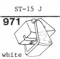 SANYO ST-15 J Stylus, diamond, stereo