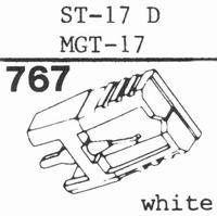 SANYO ST-17 D, MGT-17 Stylus, diamond, stereo