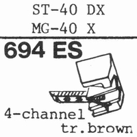 SANYO ST-40 DX; MG-40 X Stylus, ES