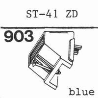 SANYO ST-41 ZD Stylus, diamond, stereo