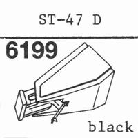 SANYO ST-47 D Stylus, diamond, stereo