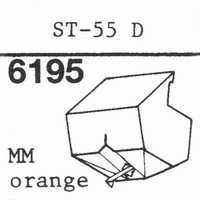 SANYO ST-55 D ORANGE Stylus, DS