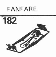 SCHUMANN FANFARE 78 RPM DIAMOND Stylus, DN