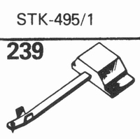 SCHUMANN/MERULA STK-495/1 Stylus, diamond, stereo