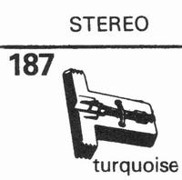 SEEBURG STEREO GREY PLASTIC Stylus, diamond, stereo