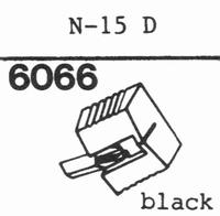SHARP N-15 D Stylus, diamond, stereo