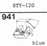 SHARP STY-120 Stylus, diamond, stereo