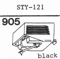 SHARP STY-121 Stylus, diamond, stereo, original