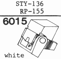 SHARP STY-136, RP-155 Stylus, diamond, stereo